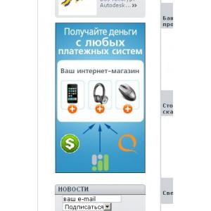Модуль размещения рекламы для версии PS 1.4.х.х