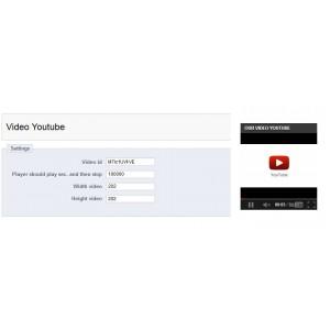 Видео Youtube  Престашоп Модуль.  Video Youtube Prestashop Module