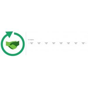 Адаптивная карусель логотипов поставщиков