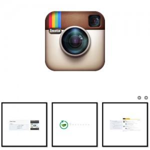 Instagram Карусель Последних Картинок Профеля с Лайками и Отзывами