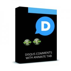 Disqus Комментарии   +  Анимированая панель