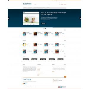 Шаблон PrestaShop для маркетплейс (цифровой магазин/продажа электронных товаров)