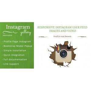 Отображение Instagram фото и видео в Prestashop