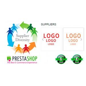 Карусель с логотипами поставщиков для Prestashop