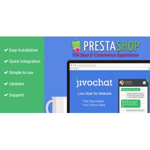 Jivochat для Prestashop